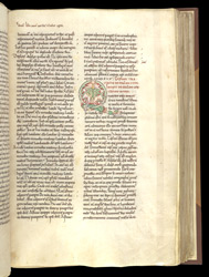 Inhabited Initial, In Augustine, Commentary On The Psalms, Psalms 101-150